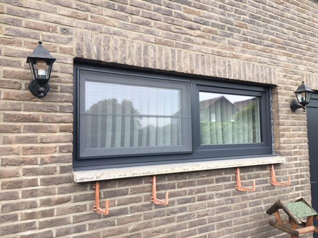Bij aankoop van ramen, bijhorend vliegenraam gratis